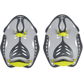 speedo Biofuse Power Paddles Oxid Grey/Lime Punch/Cool Grey
